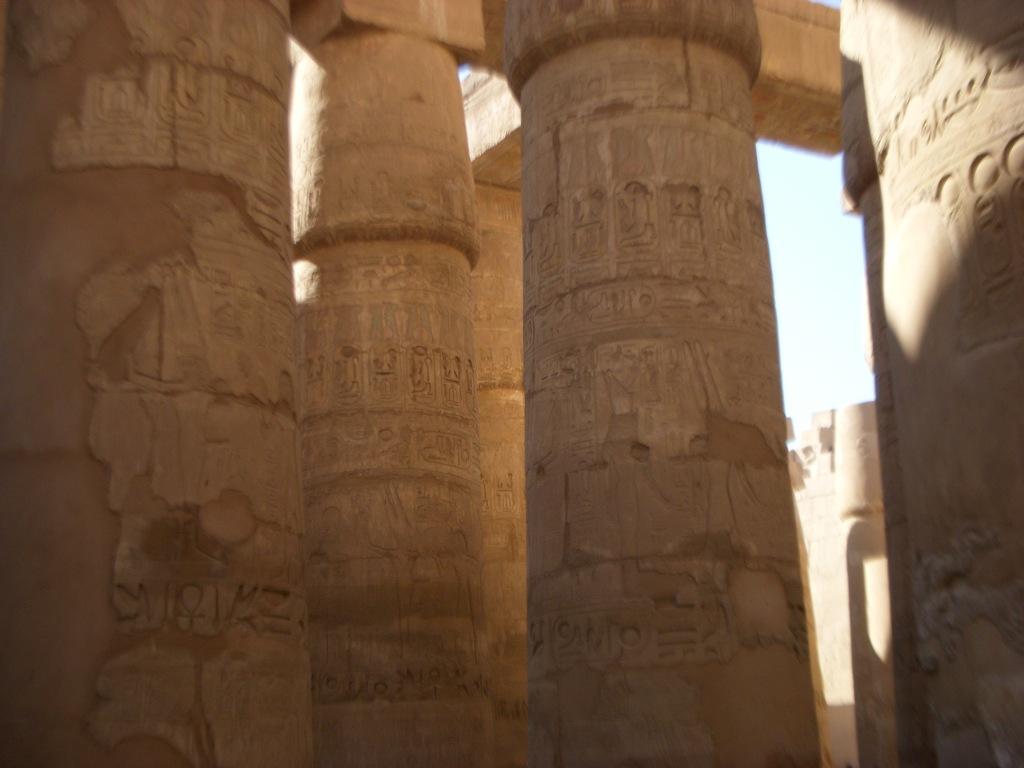 Columnas templo egipcio