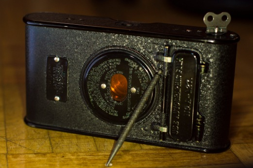 Kodak Vest Autographic back