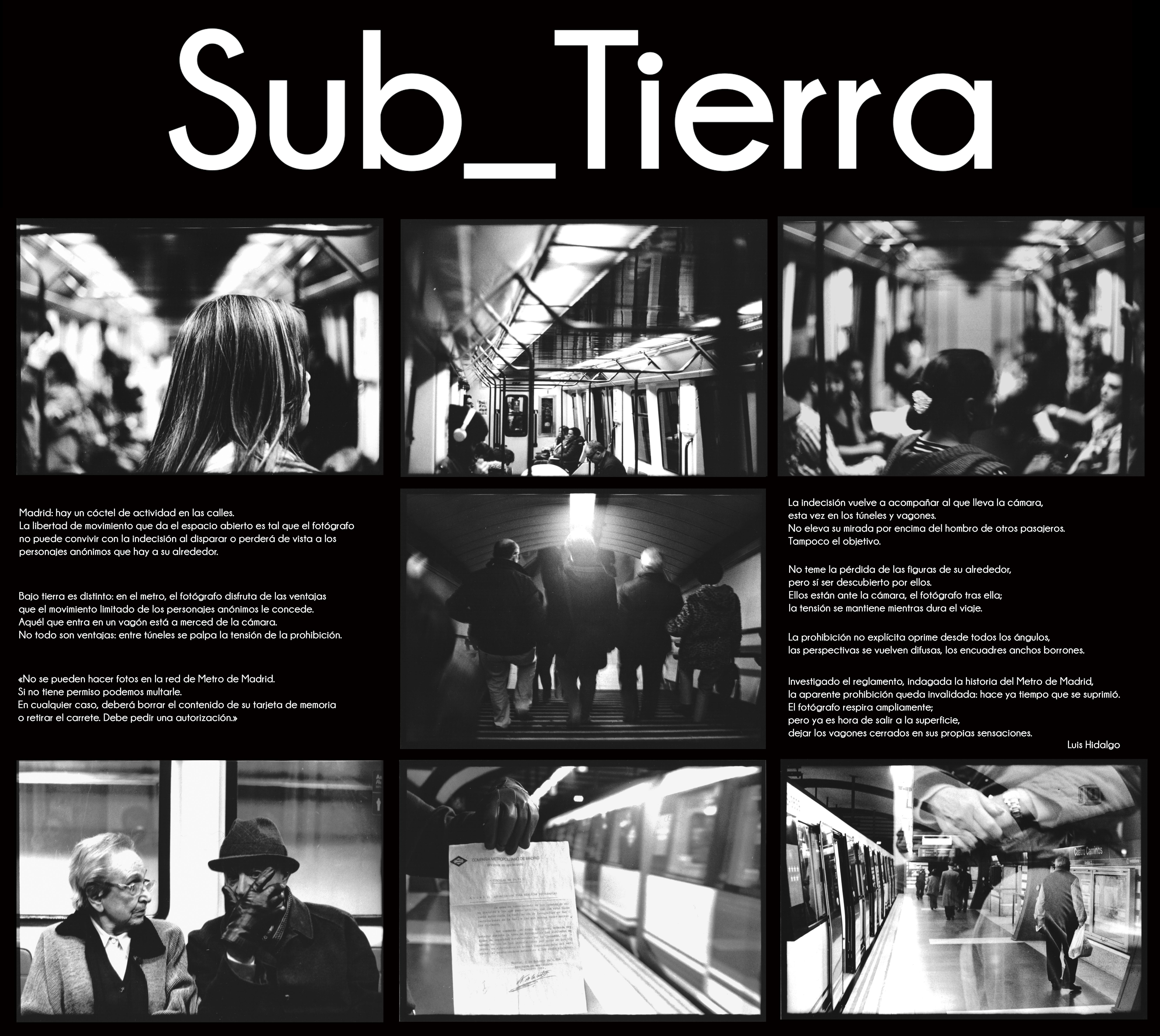 Sub_Tierra: fotografía analógica de Luis Hidalgo en «Centro y ...