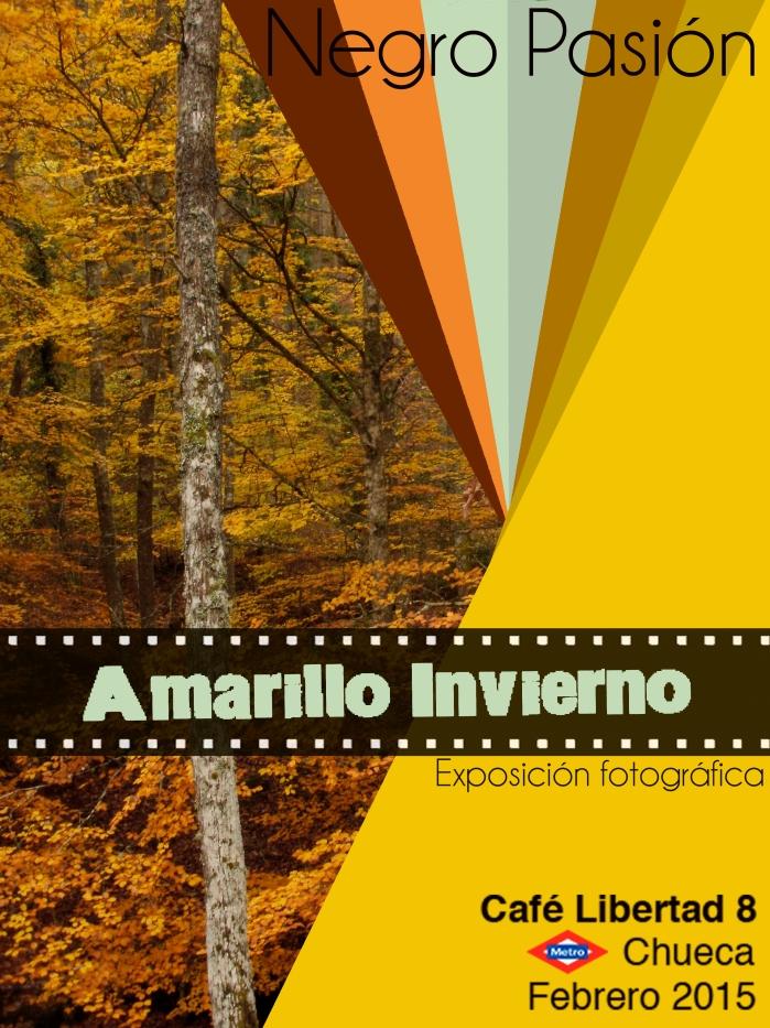 Amarillo Invierno cartel